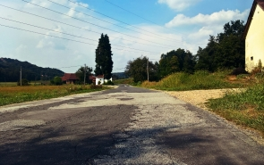 Lokalna cesta Ormož - Spodnji Ključarovci